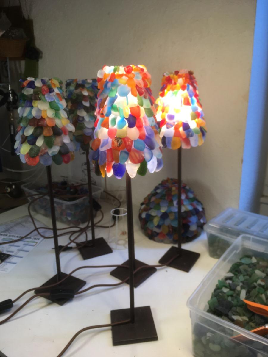 5 petites lampes